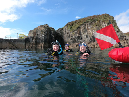 Discovering Diving in Ireland Thanks To COVID-19!