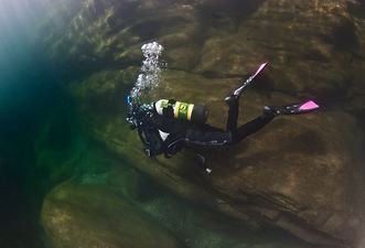 diving in Ireland for certified divers