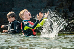 Kids Having Fun In The Water at Oceans of Discovery Kids Summer Camp
