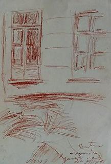 A minha janela num dia ébrio