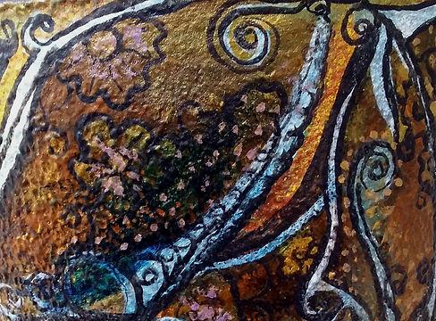 Vaso Oxum - Detalhe
