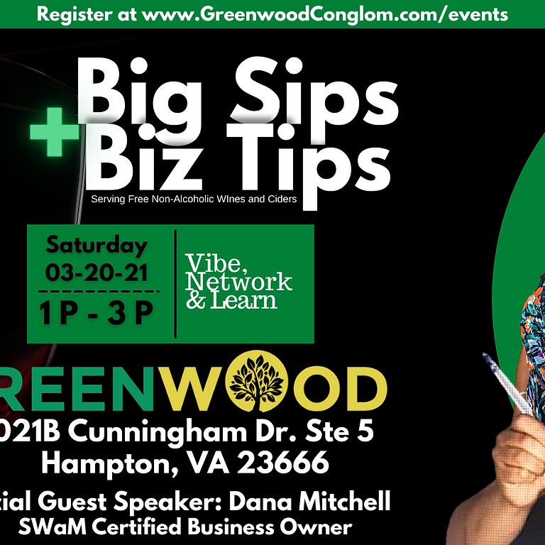 Big Sips + Biz Tips: Business Mixer