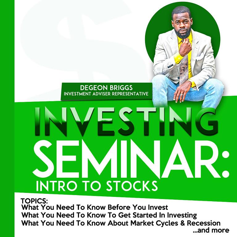 Investing Seminar