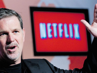 DISRUPTION – TRANSFORMATION: the  Netflix way