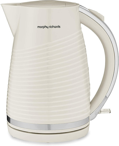 Jug Kettle Dune, Plastic, 1.5 liters, Cream by Morphy Richards