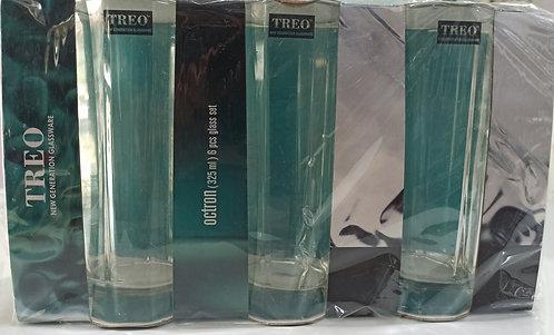6-piece Glass Tumbler