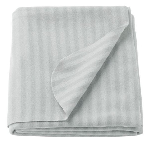 VITMOSSA Grey Throw/Blanket, 120×160 cm – IKEA