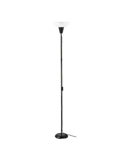TÅGARP Floor Uplighter, black/white by IKEA