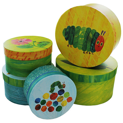 Hungry Caterpillar Nesting Storage Boxes - Set Of 5