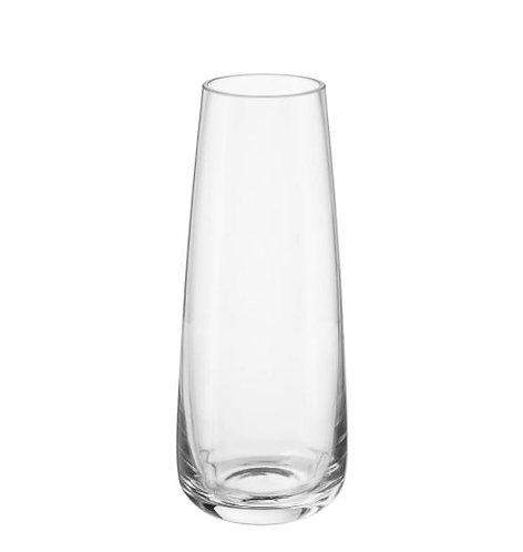 BERÄKNA Vase, clear glass 15 cm by IKEA