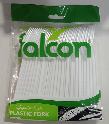 50-Piece Disposable Forks White by Falcon