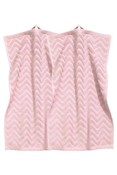 Light Pink 2-Pack Guest Towels – H&M