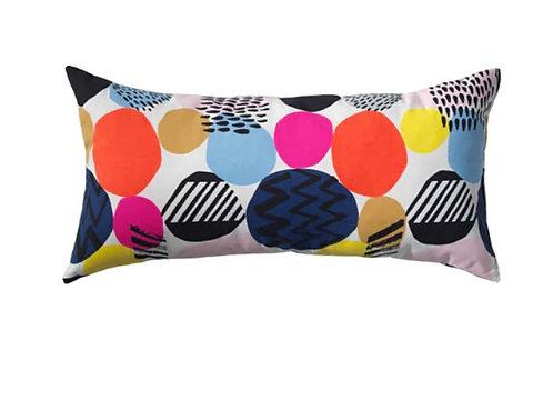 NEDJA Rectangular Cushion/ Throw Pillow with Insert, 30×60 cm – IKEA