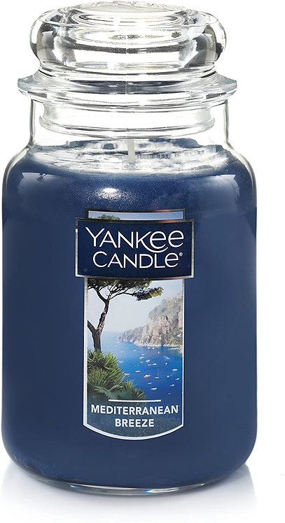 Large Jar Candle, Mediterranean Breeze by Yankee Candle