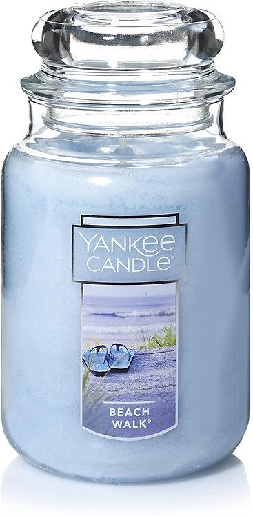 Large Jar Candle Beach Walk by Yankee Candle