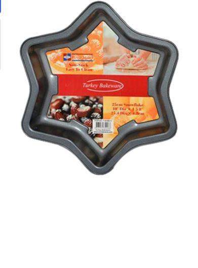 Snowflake Cake Pan 25 cm by Homemaker