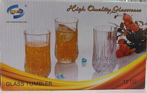 3-piece Glass Tumbler