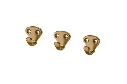 KVASP Hook, brass-colour by IKEA