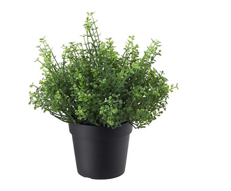 FEJKA Artificial Potted plant, in/outdoor Baby's tears 9 cm by IKEA