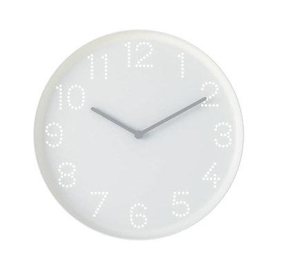 TROMMA Wall Clock, White 25 cm by IKEA