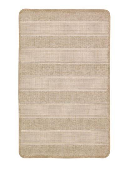 KLEJS Rug, Flatwoven, Beige/White 50x80 by IKEA