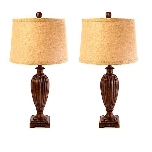 Bronze Resin Lamp (Set of 2), Fangio Lighting