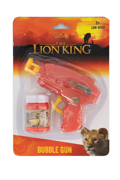Manual Bubble Machine, Red by Disney