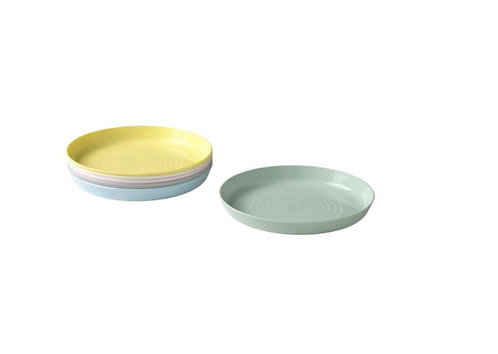KALAS Plate, Mixed Colours by IKEA