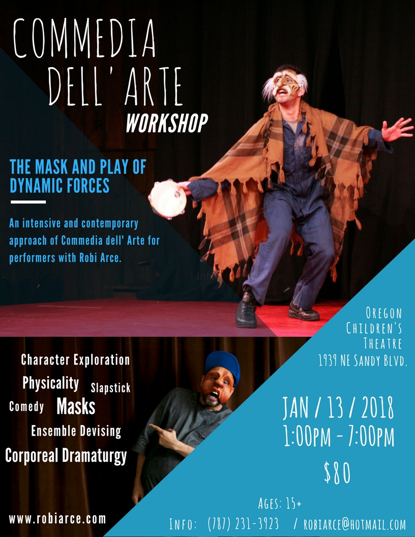 Commedia Workshop in Portland, OR