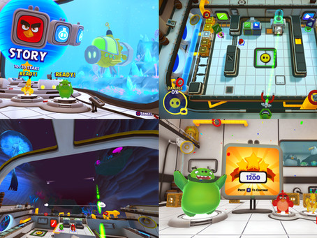 'The Angry Birds Movie 2 VR: Under Pressure' is coming soon! Couch co-op fun on PlayStation®VR!