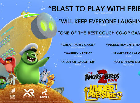 Fans of the Angry Birds Movie 2 VR: Under Pressure game get a terrifying treat this Halloween!
