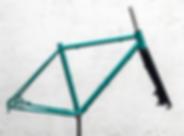 Quadro de bicicleta gravel República Pantanera