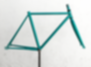 Quadro de bicicleta fixa República Montevideo
