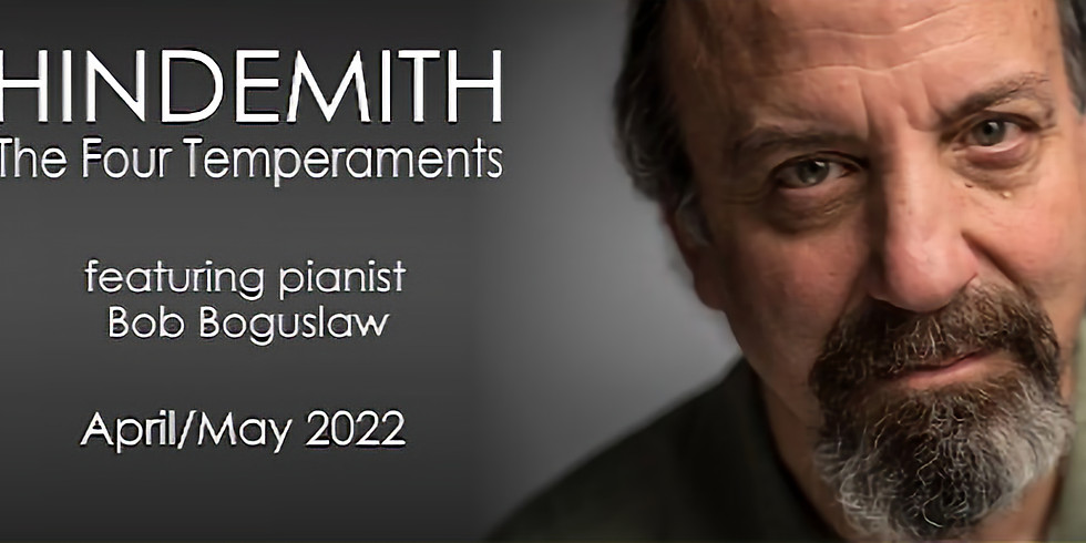 """""""HINDEMITH The Four Temperaments, featuring pianist Bob Boguslaw"""", National String Symphonia"""