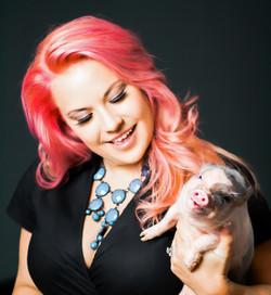 Amanda & Piggie Smalls