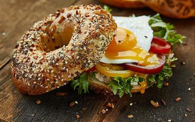 food styling a sandwich restaurant
