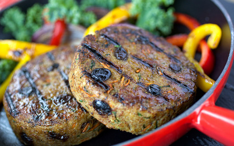 Food Stylist: Curried Turkey Burgers