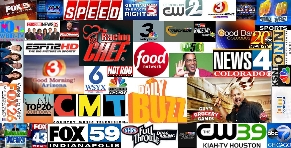 The Racing Chef Media| celebrity chef | tv chef | television chefs | tv celebrity chef