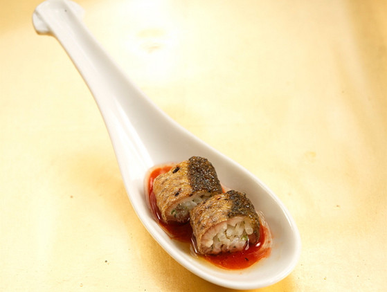 Food Stylist: Black Bass in Thai Hot Sauce