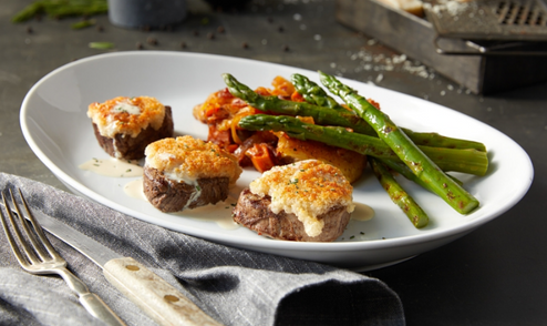 Beef Medallions and Asparagus