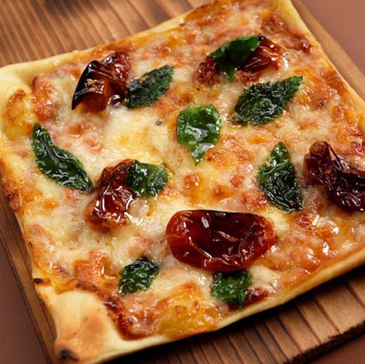 Individual Square Pizza