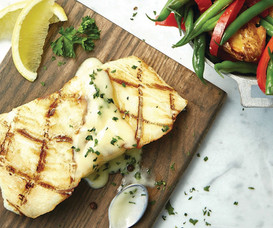 Food Stylist: Grilled Halibut