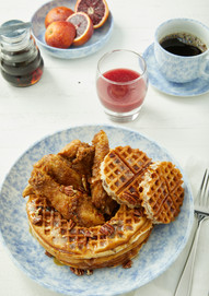 Food Stylist: Chicken and Waffles