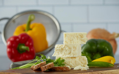 Stacked cheese for food photography   pasta food styling