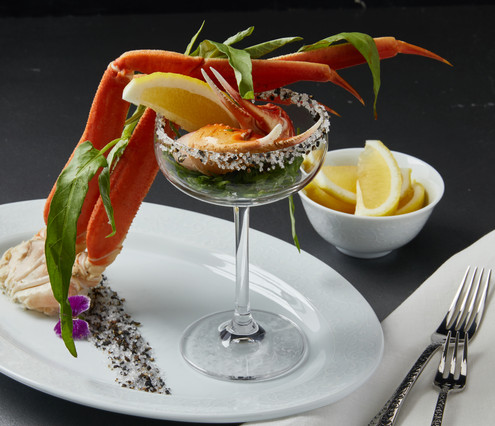 Food Stylist: Crab Cocktail | seafood stylist