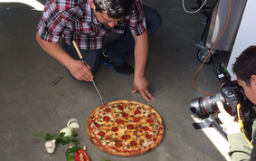 how to photograph pizza   pizza food styling