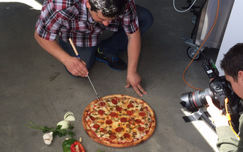 how to photograph pizza | pizza food styling