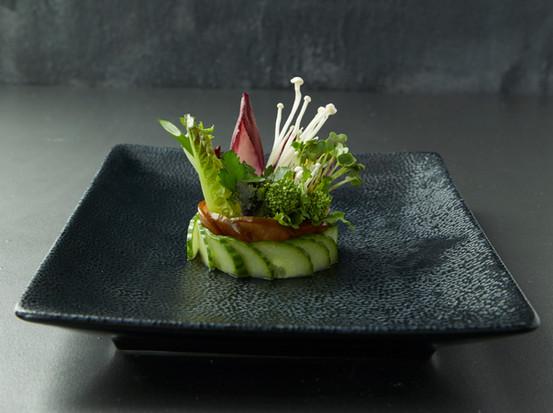 Fresh food styled salad | salad food styling