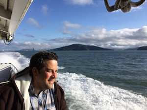 Chef Nicky on Ferry