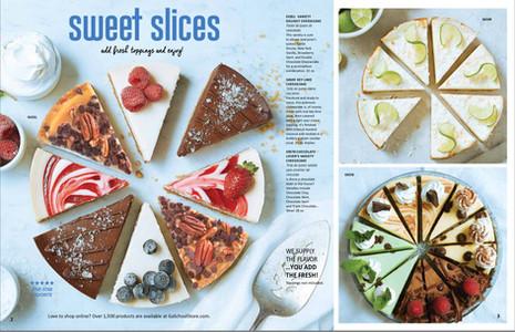 Food Styling Cheesecake
